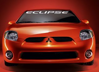 Mitsubishi Eclipse Windshield Banner Decal 4 x 38