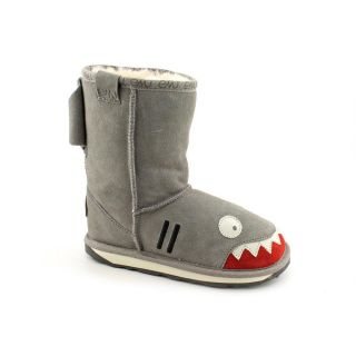 Emu Australia Little Creatures Shark Youth Kids Girls Size 12 Gray
