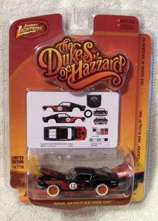 JL WL JOHNNY WHITE LIGHTNING DUKES OF HAZZARD R7 1968 MUSTAGE SHELBY