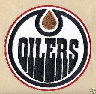 Edmonton Oilers NHL Hockey Sports New Jersey Patch