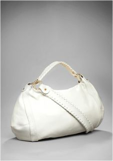Onna Ehrlich Off White Hobo Soft Leather Bag Tote New