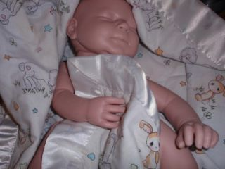 Emily Rose A Sleeping Val Shelton Sculpt Reborn Doll Kit Full Arms
