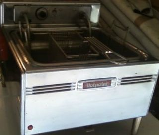 Electric Deep Fryer Hotpoint Countertop Deep Fryer, Model HK3, 220 240