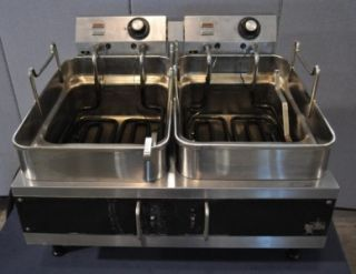 Star Two Well Countertop Electric Fryer Model 5301E
