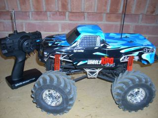 HPI Wheely King RTR 4 Wheel Drive Electric Truck