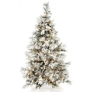 Colin Cowie Colin Cowie 7 1/2 Flocked White Artificial Christmas Tree