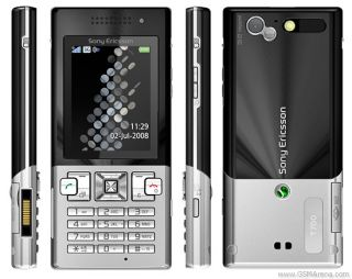 New Sony Ericsson T700 Black on Silver Unlocked Cellular Phone