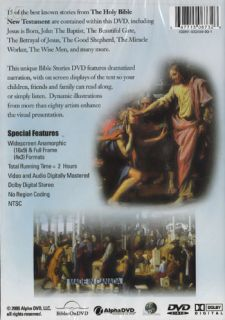 NEW Sealed Christian Family DVD 15 Bible Stories   Dramatized New