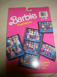 Vintage 1986 Barbie Doll Fancy Fashions Clothing Shoes Mattel Barbie