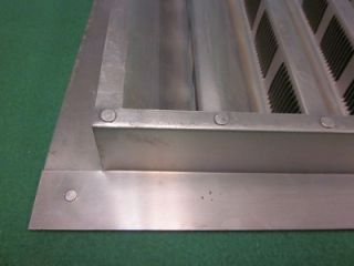 aluminum mill wall louver air duct vent 18 x 24