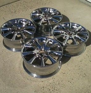 Acura Honda TSX 17 Chrome Rims Wheels