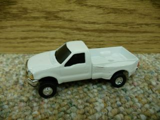 64 Ertl Ford F 350 White Dually Pickup Truck Farm Toy