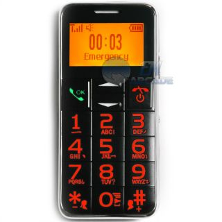 Basic Mobile Phone SOS Big Button Cell Phone  FM Radio Torch