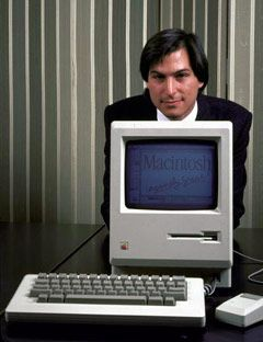 ORIGINAL MACINTOSH / MAC 128k COMPUTER SYSTEM, 1984   STEVE JOBS