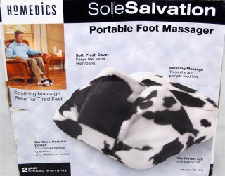 Homedics Sole Salvation Portable Foot Massager FM 1CW