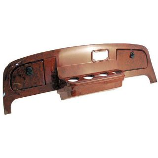 Custom Dash Kit EZGO Golf Carts Wood Grain Woodgrain