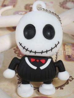 64GB Cartoon White Black Warlock Monster USB Flash Memory Drive Stick