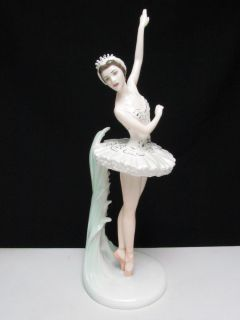 COALPORT DAME MARGOT FONTEYN BALLET DANCER FIGURINE LTD ED BY J