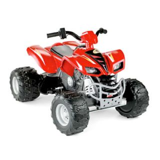 Fisher Price Power Wheels Kawasaki KFX 12 Volt Battery Powered Ride On