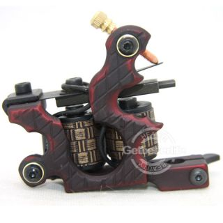Pro 10 Wraps Coil Iron Shader Tattoo Machine Gun Supplies