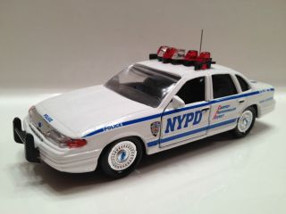 Custom Road Champs New York City Police Ford Crown Vic Supervisor