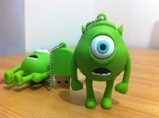 Mini Mike Wazowski USB Flash Drive from MONSTER INC Funny Memory Stick