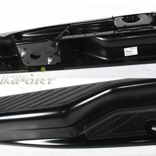 92 08 Ford Econoline Van Black Rear Step Bumper w Blk Pad Replacement