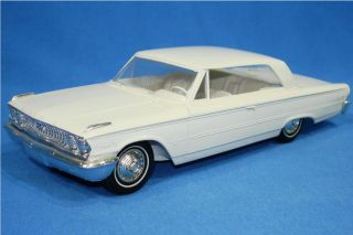 AMT Authentic Scale Model Car 1963 Ford Galaxie Hardtop Friction Promo