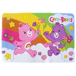 Care Bears Rainbow Kids Plush Mat Accent Floor Area Rug