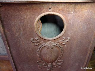 Antique Fireplace Summer Cover Art Nouveau Cast Iron Victorian House
