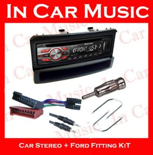 Ford Focus Car Stereo Fitting Kit with Pioneer CD Player  USB Aux