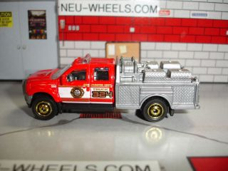 FORD F550 SUPER DUTY FIRE TRUCK 1 87 HO SCALE LIMITED EDITION