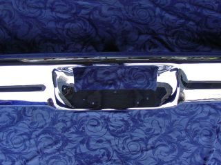 1965 1966 Ford Galaxie Rear Bumper Plated