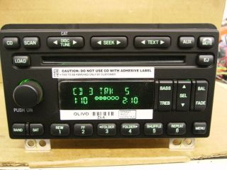 FORD EXPEDITION CD 6 DISC  PLAYER CHANGER RADIO 5L1T 18C815 AC 2003