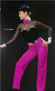 Fosse 37 Jazz Pageant Casual Wear National Competition Dance Costume