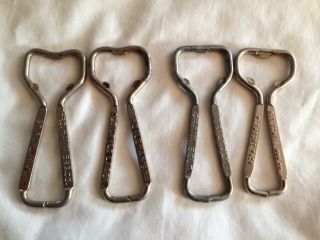 Beer Bottle Openers 4 Hamms Old Style Grain Belt SchellS