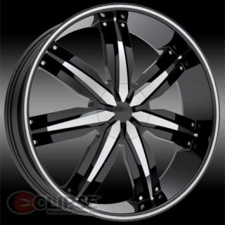 Massiv 916 Wheels Rims 5 or 6 Lug Rear Wheel Drive Cars Trucks