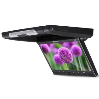 Car 10 1 WSVGA Flip Down Overhead 16 9 LCD Monitor Roof Mount