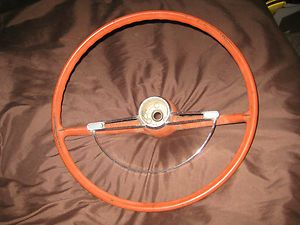 1961 1962 1963 Pontiac Tempest Steering Wheel Horn Ring