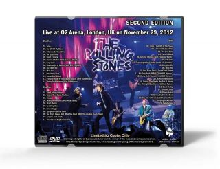 THE ROLLING STONES 50TH ANNIVERSARY ATO2 ARENA SecondNight 2CD+DVD