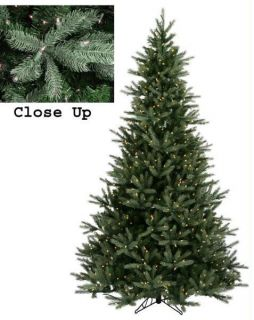 Natural Frasier Fir 7 5 Pre Lit Artificial Christmas Tree with Clear