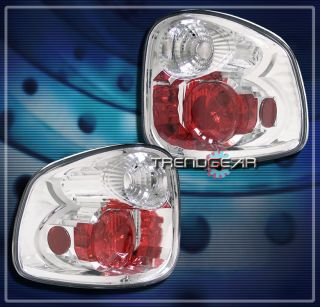 1997 2003 Ford F 150 Flareside altezza Brake Tail Light Lamp Chrome 98