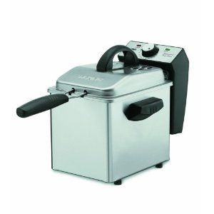 Waring Pro DF55 Professional Mini Stainless Deep Fryer
