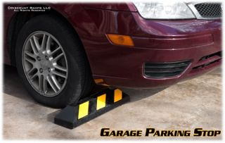 Parking Lot Curb Wheel Stop Car Truck Garage Tire Guide DH PB 4