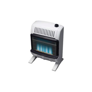 Mr Heater 10000 BTU Natural Gas Blue Vent Free Wall Mount Heater