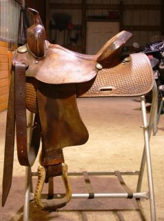 14 Galbraith Barrel Racing Saddle