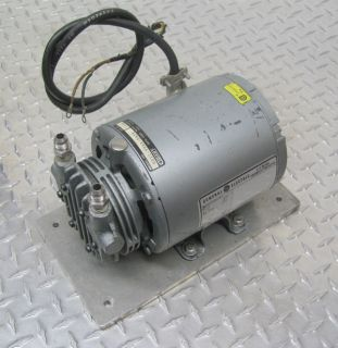 hours map gast 0211 v36a g8cx rotary vane vacuum pump