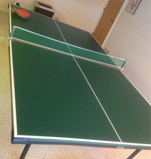 Ping Pong Table Family Game Indoor Sport For Family Playroom Great