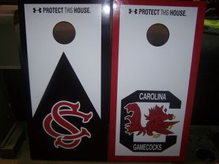 South Carolina Gamecocks Cornhole Boards