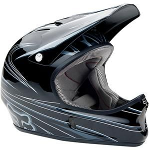 NIB Fox Racing Rampage DH Helmet Black Grey White Assorted Sizes